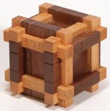 cube 6 @ 40mm x40mm x 40mm Square Oak CUBE WOODEN BLOCK